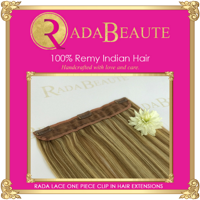 Champagne & Blonde Lush lace in extensions. Buy now at Rada Beaute.