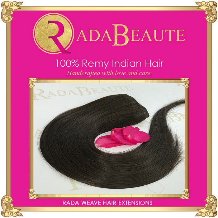 Melted Mocha Weave extensions. Buy now at Rada Beaute