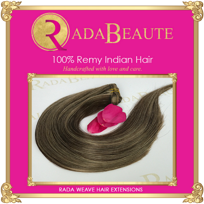 Maple Irish Cream weave extensions. Buy your hair extensions at Rada Beaute.