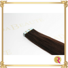 Lavish Espresso Tape in extensions close up view. Buy your tape in hair extensions at Rada Beaute.