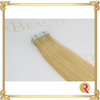 Butterscotch Blonde Tape in Extensions close up. Buy now at Rada Beaute.