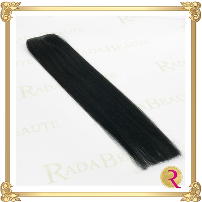 Midnight Diva weave extensions full side view. Buy now at Rada Beaute.