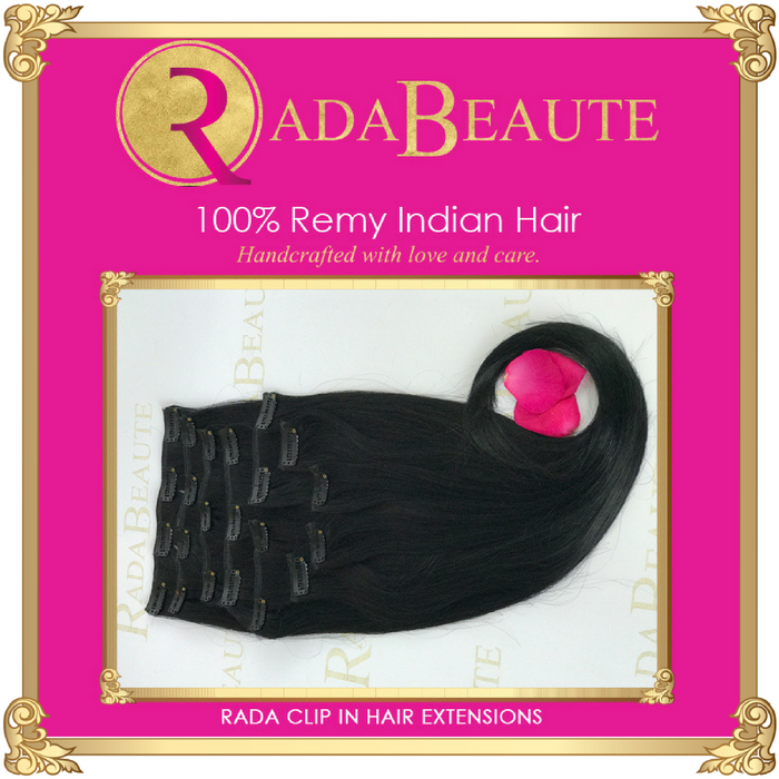 Dark Romance Clip in Extensions. Buy now at Rada Beaute