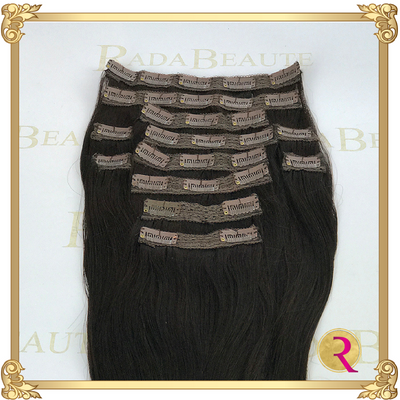 Midnight Diva Clip in Extensions top view. Buy now at Rada Beaute.
