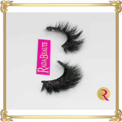Drama Queen Mink Lashes side view. Buy now at Rada Beaute.