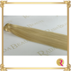 Butterscotch Blonde Weave Extensions side view close up. Buy now at Rada Beaute.