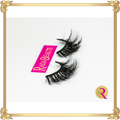 Red Carpet Mink Lashes side view. Buy now at Rada Beaute.
