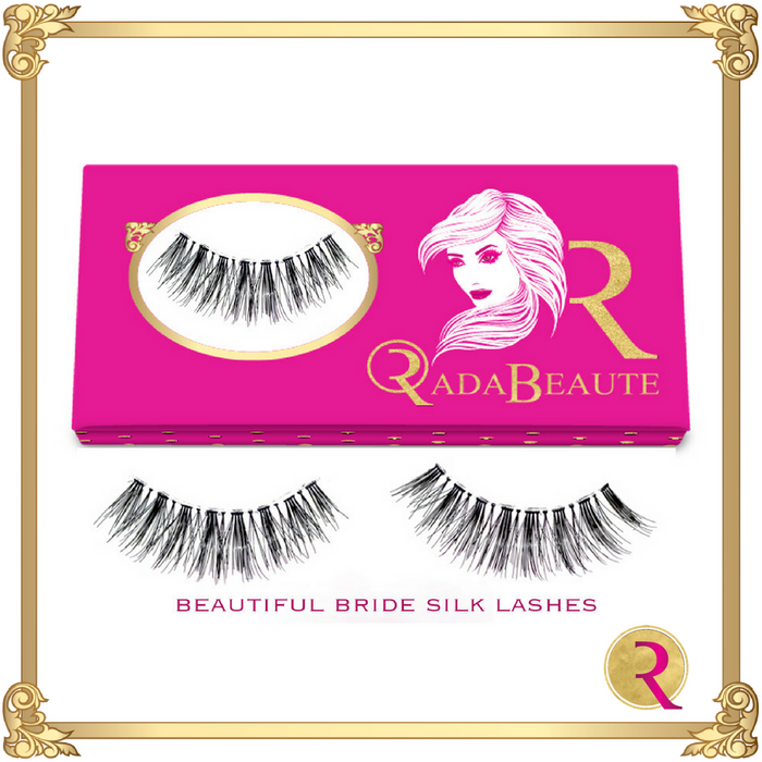 Beautiful Bride Silk Lashes box view. Buy your Rada Beaute Silk Lashes now!