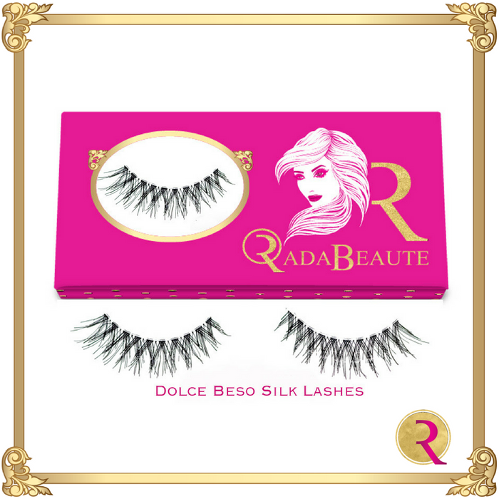 Dolce Beso Silk Lashes box view. Buy your Rada Beaute Silk Lashes now!
