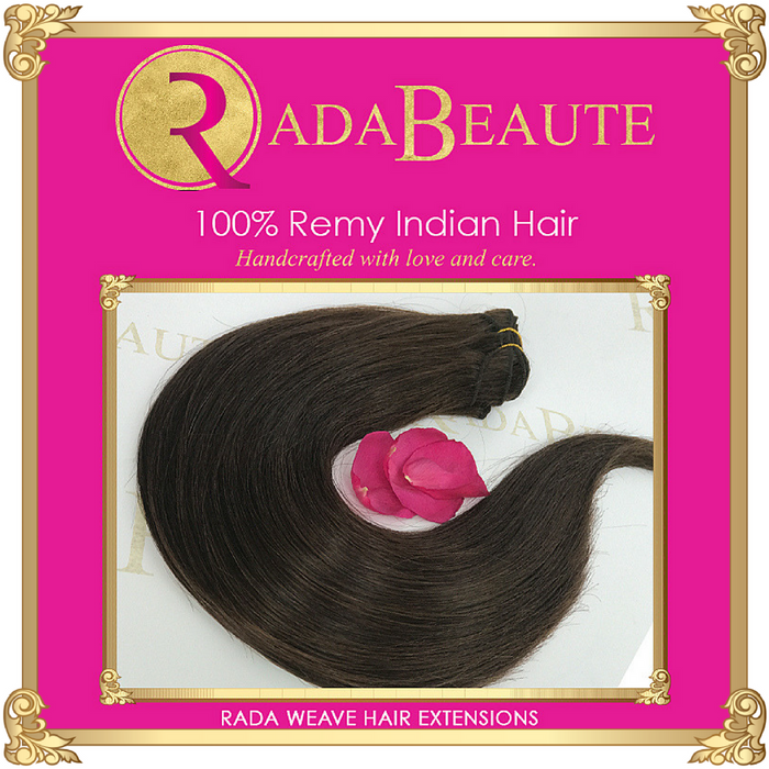 Lavish Espresso Weave extensions. Buy your weave hair extensions at Rada Beaute.
