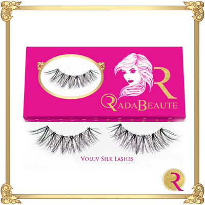 Voluv Silk Lashes box view. Buy your silk lashes at Rada Beaute now!