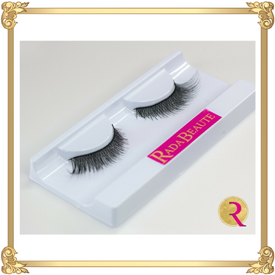 You R Mine Silk Lashes opened view. Buy your silk lashes now at Rada Beaute.