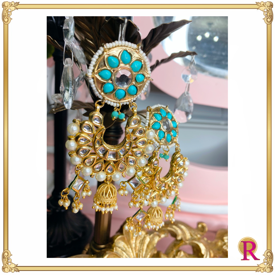 Antique Kundan Tassel Earrings