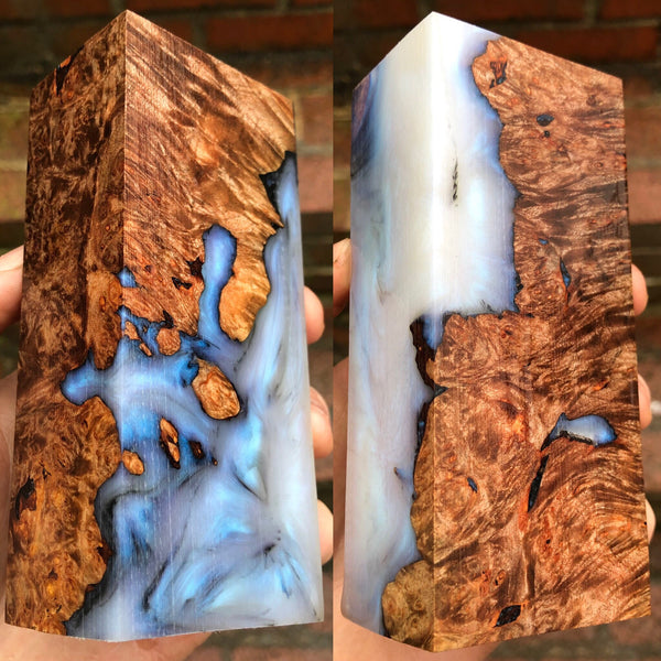 Maple Burl Hybrid Blank