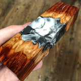 "Red Mallee Burl Hybrid Blank 5 5/8""L x 1 11/16""W x 15/16"" thick"