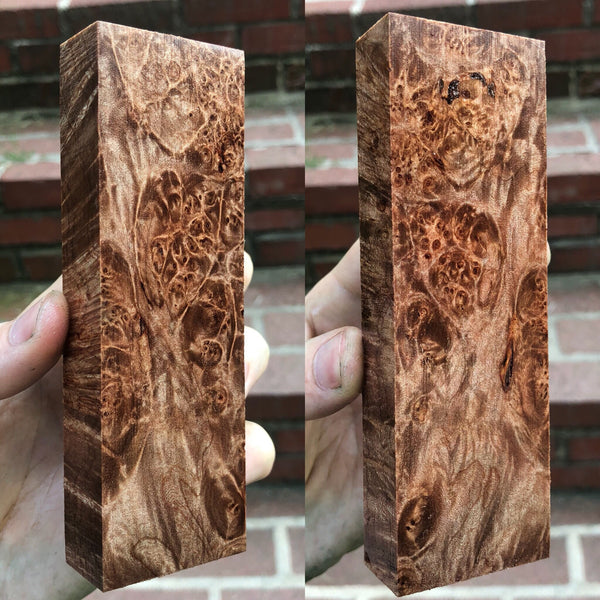 Maple Burl Blank