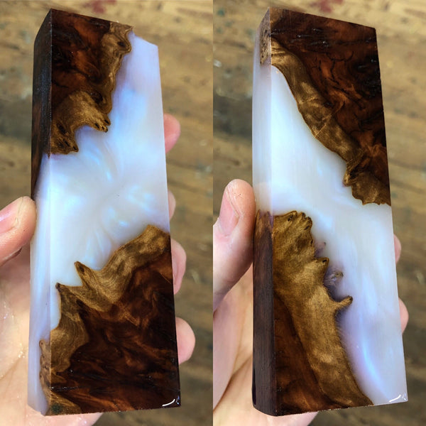 Red Morrel Burl Hybrid Blank