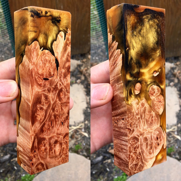 Lace Maple Burl
