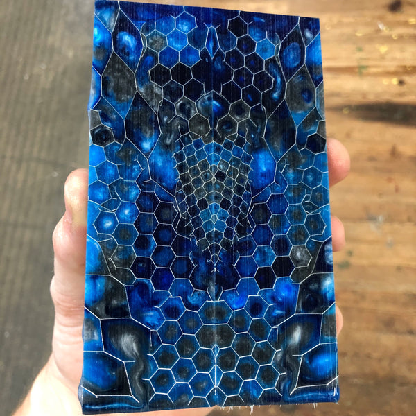 Aluminum Honeycomb Knife Scales