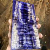 Dyed Cottonwood Knife Scales