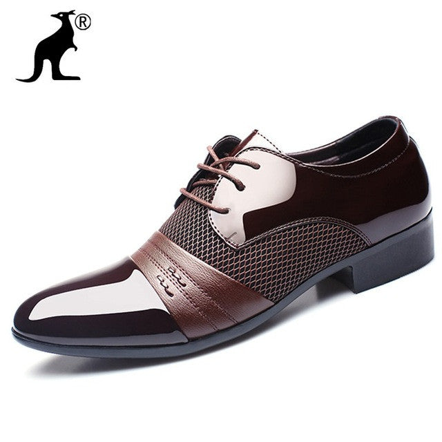 New Arrival Height Increasing Men Flats Shoes