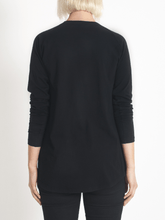 layer me l/s tee black