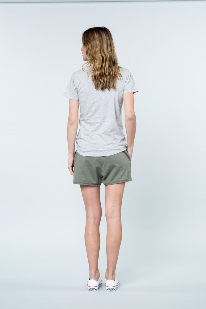 Load image into Gallery viewer, Super Relaxed Tee Grey OC Tee Shirt Organic Crew