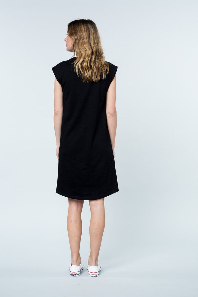 Load image into Gallery viewer, Peninsula tank dress black