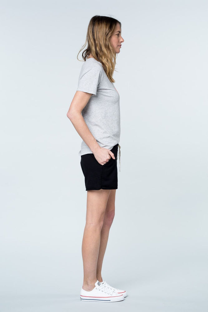 Load image into Gallery viewer, Martha short black pants Organic Crew