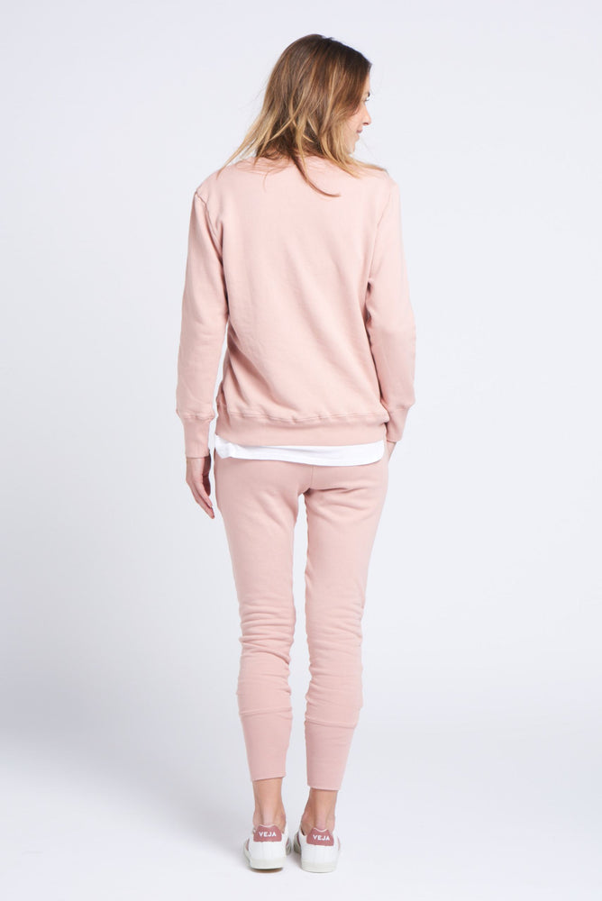 Load image into Gallery viewer, crew pant dusty pink pants Organic Crew