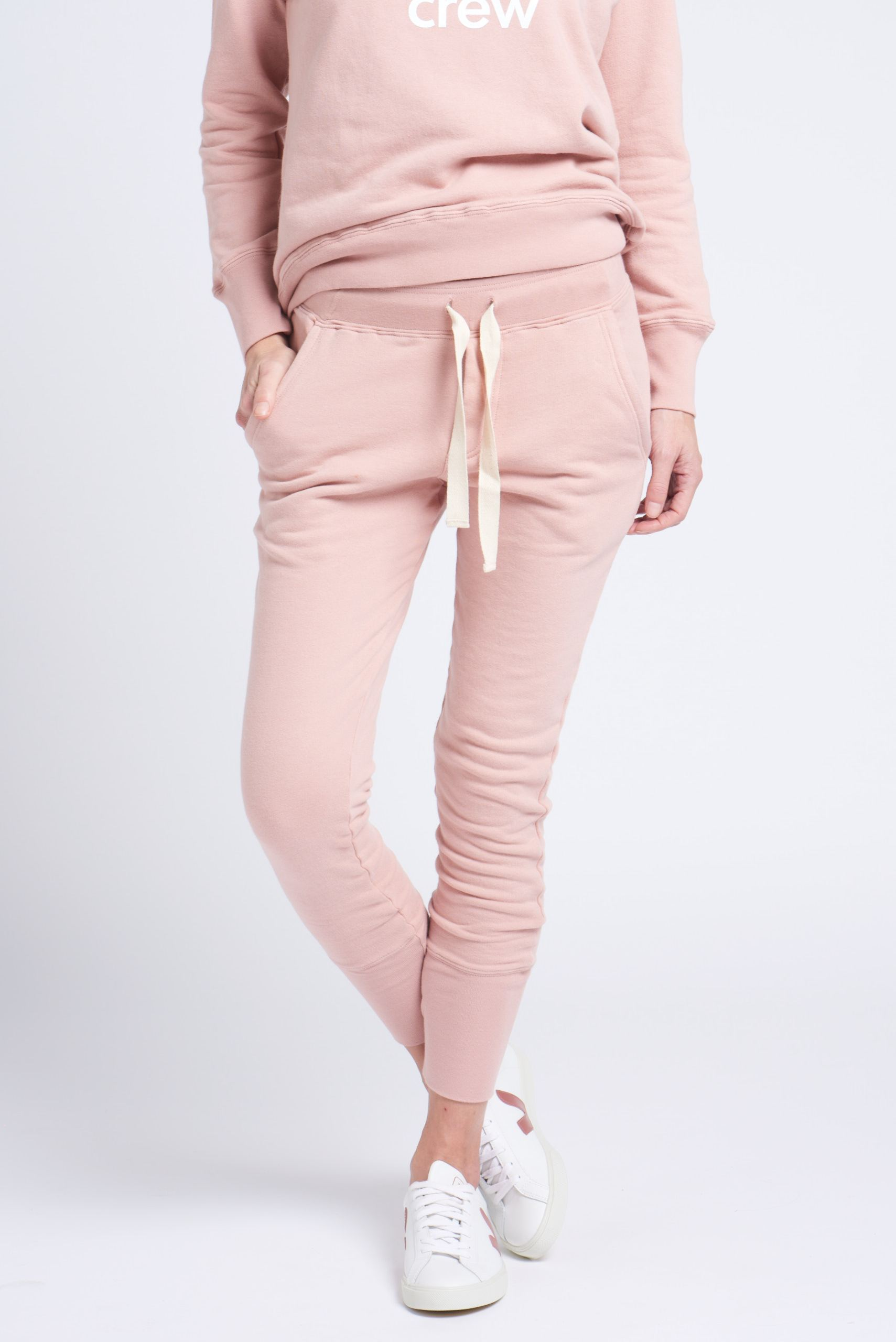 crew pant dusty pink