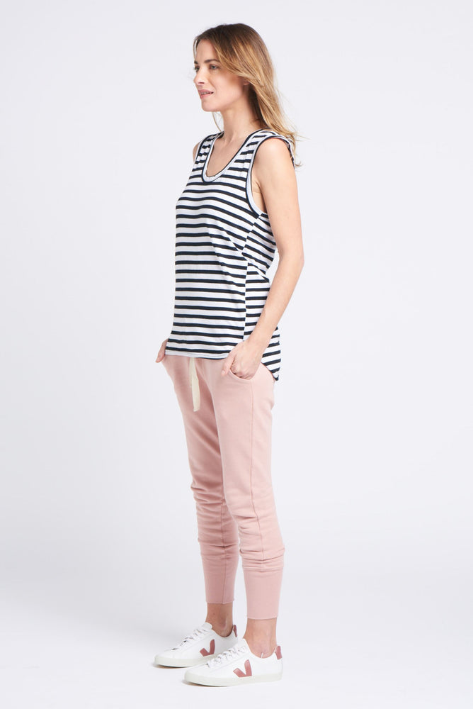 Load image into Gallery viewer, Perfecto Tank Stripe Tank Organic Crew