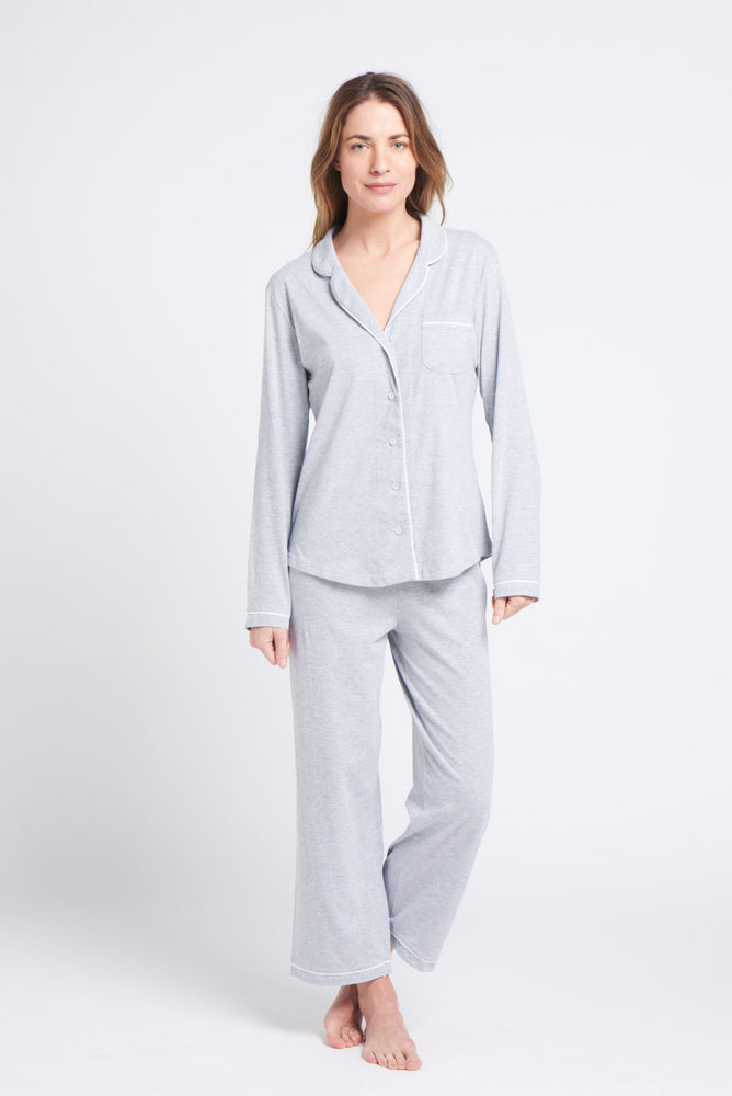 Load image into Gallery viewer, Portsea PJ Set long Grey