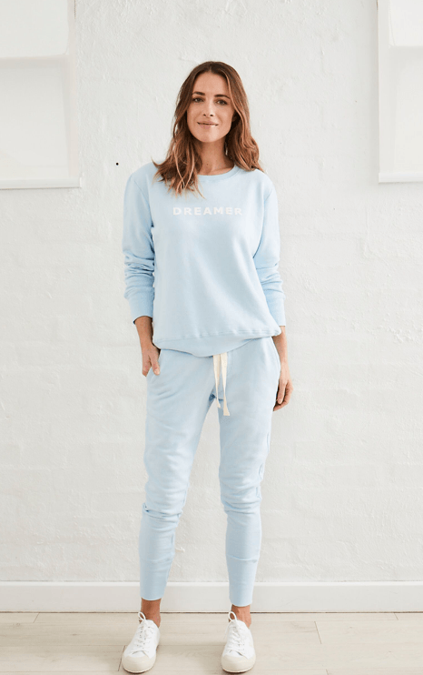 Load image into Gallery viewer, Crew Pant Pale Blue pants Organic Crew