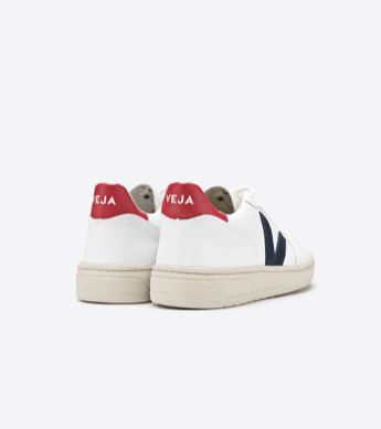 Load image into Gallery viewer, Veja V-10 Nautico Pekin shoes Organic Crew