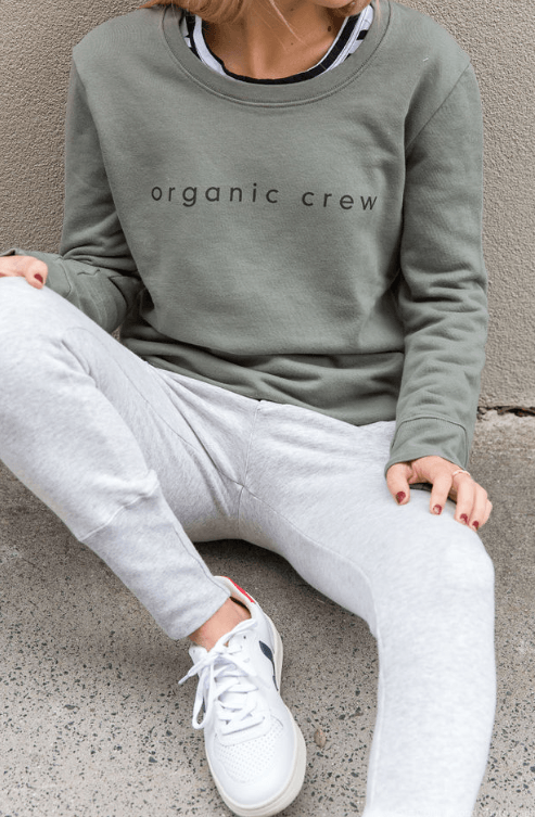 Load image into Gallery viewer, Crew Pant Grey pants Organic Crew