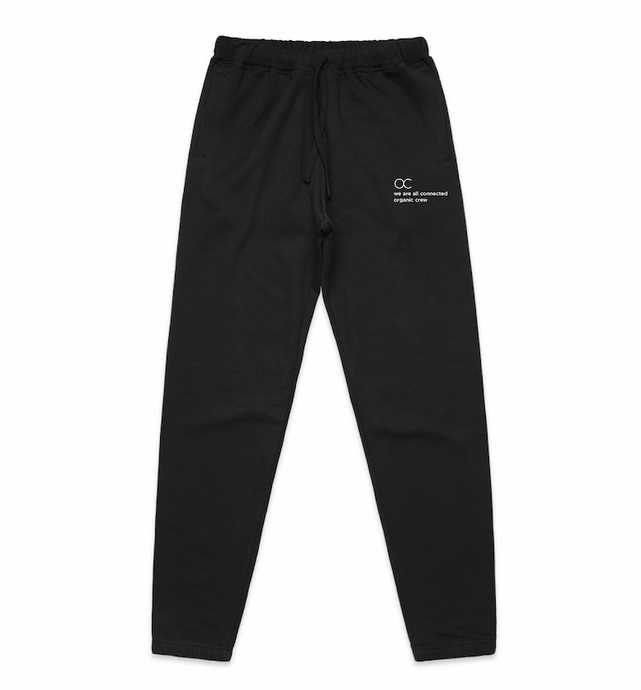 connected jogger pant black - PRE SALE Sweater Organic Crew