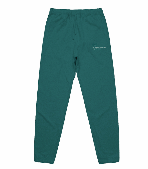 connected jogger pant teal - PRE SALE pants Organic Crew