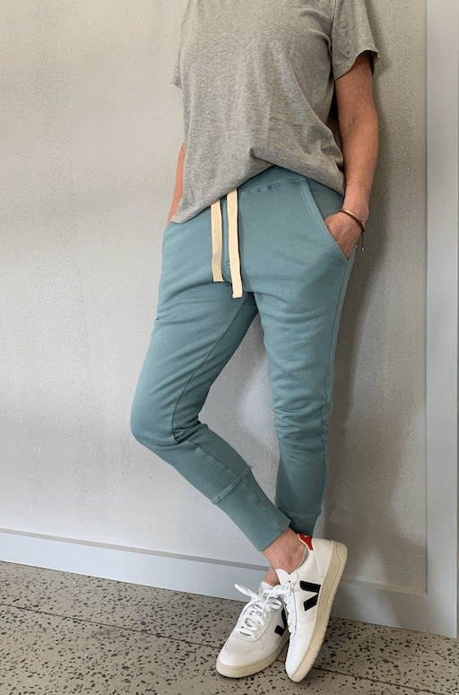 Load image into Gallery viewer, Crew Pant Steel Blue pants Organic Crew