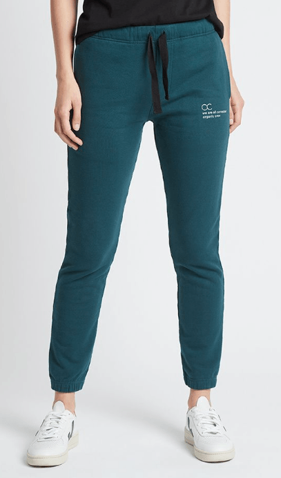 Load image into Gallery viewer, connected jogger pant teal pants Organic Crew