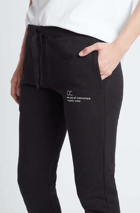Load image into Gallery viewer, connected jogger pant black pants Organic Crew