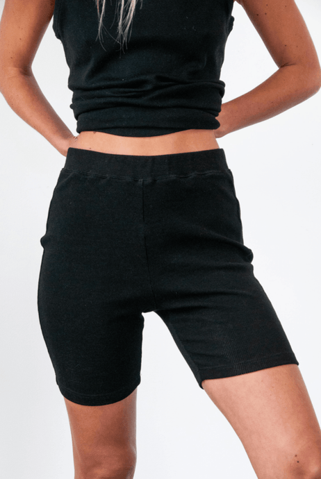 Yogi bike short in black shorts Organic Crew