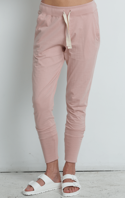 Lounge Pant Dusty Pink pants Organic Crew