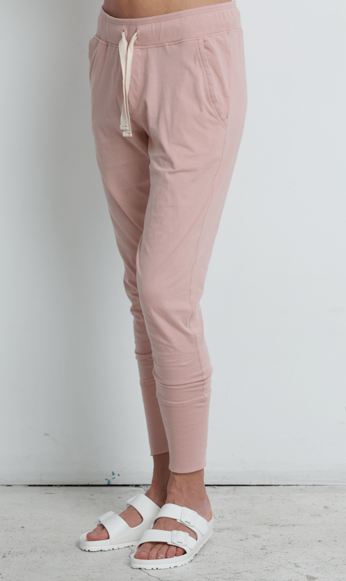 Load image into Gallery viewer, Lounge Pant Dusty Pink pants Organic Crew