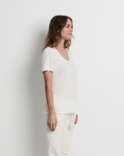 South Beach Linen T-Shirt Natural