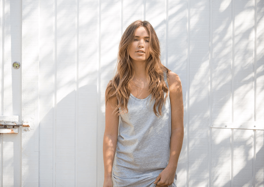 Load image into Gallery viewer, cali tank dress grey dress Organic Crew