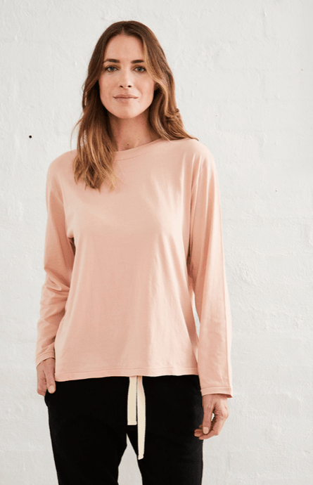 Flinders Boxy Tee Dusty Pink