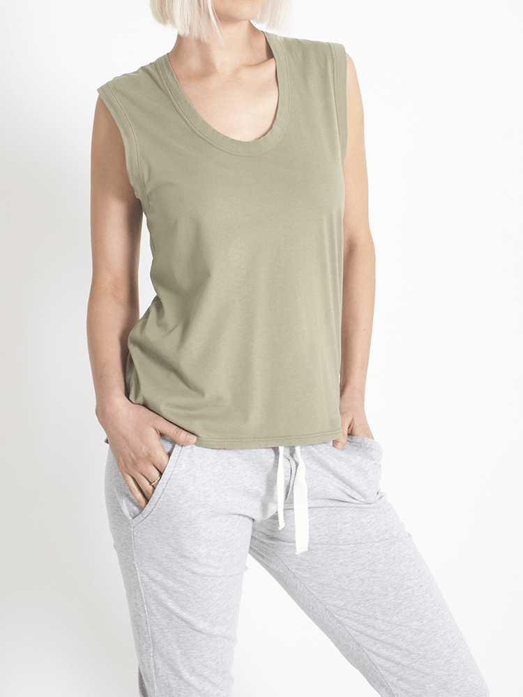 Load image into Gallery viewer, Perfecto Tank Khaki