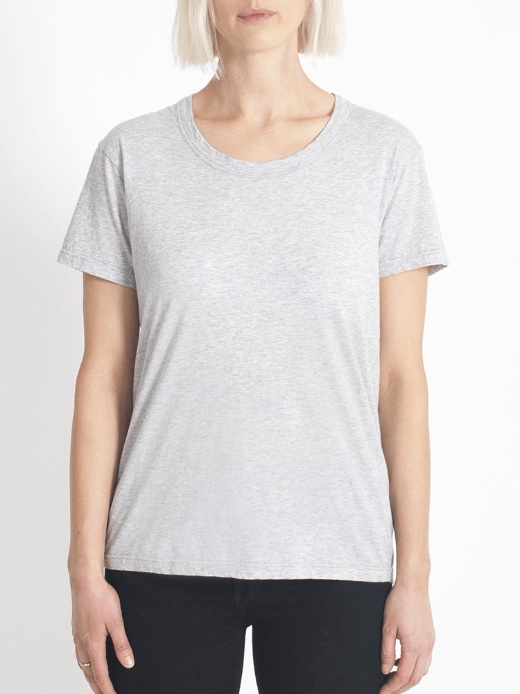 super relaxed tee grey Tee Shirt Organic Crew