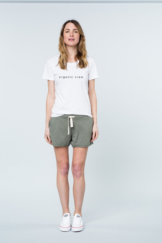 Load image into Gallery viewer, Super Relaxed Tee White OC Tee Shirt Organic Crew